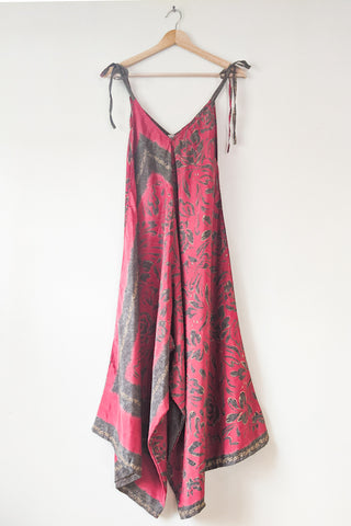 Sari Jumpsuit - Dusty Red