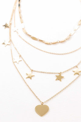 Star-Struck Layered Necklace