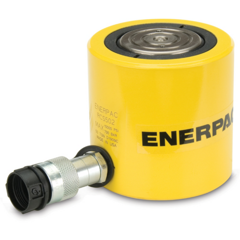 Enerpac RCS502, 48.1 ton Capacity, 2.38 in Stroke, Low Height Hydraulic Cylinder