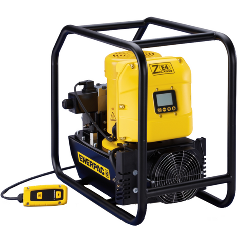 ENERPAC ZE4208TG-QHR ELECTRIC HYDRAULIC TORQUE WRENCH PUMP