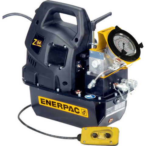 ENERPAC ZE4208TB-QHR ELECTRIC HYDRAULIC TORQUE WRENCH PUMP