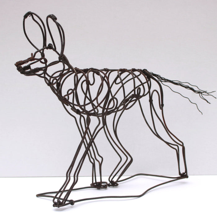 PDC Large snare wire sculptures