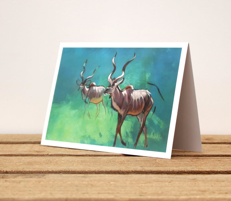 Heather Irvine - A6 other Wildlife Greetings cards - different designs to choose from!