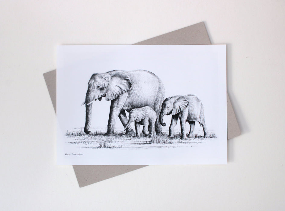 Kim Thompson - Following Mum Special Limited Edition Print