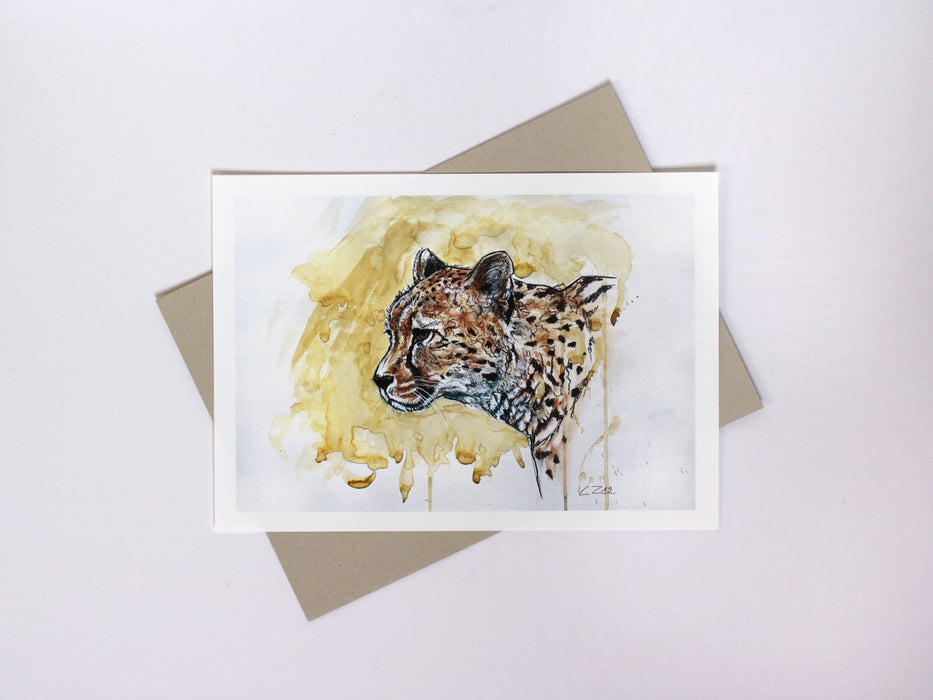 Corinne Zollinger - Savannah Stroll Special Limited Edition Print