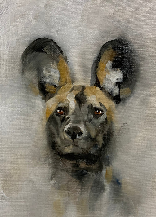 Julie Brunn - Painted Dog 2 Special Limited Edition Print