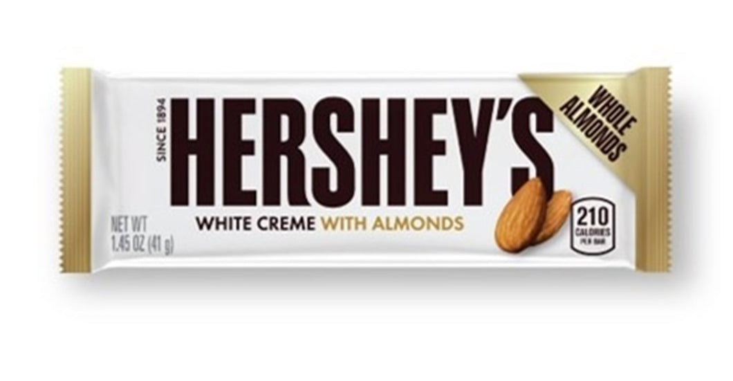 Hersheys White with Almonds 41g
