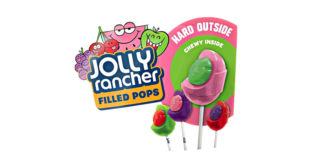 Jolly Rancher Cherry filled pop