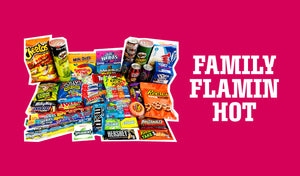 Flaming Hot Cheetos Family Box