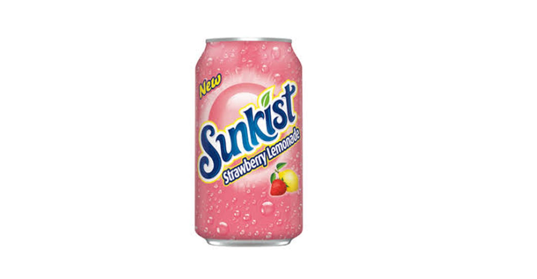 Sunkist Strawberry Lemonade 355 ml Buy 10 Get 2 Free