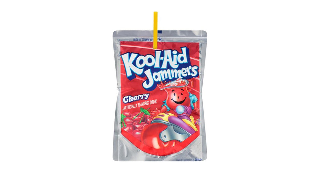 Koolaid Jammers Cherry 170ml x 10