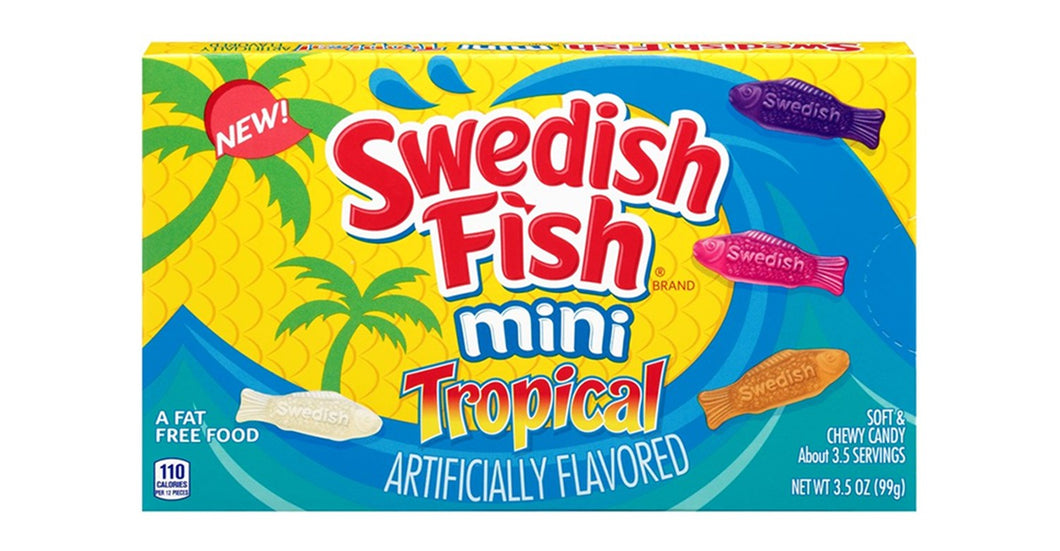 Swedish Fish Tropical Theatre Box 99g