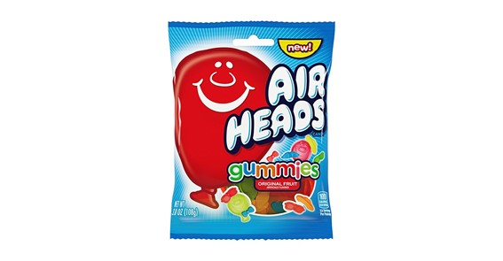Airheads Gummies Peg Bag 108 gram
