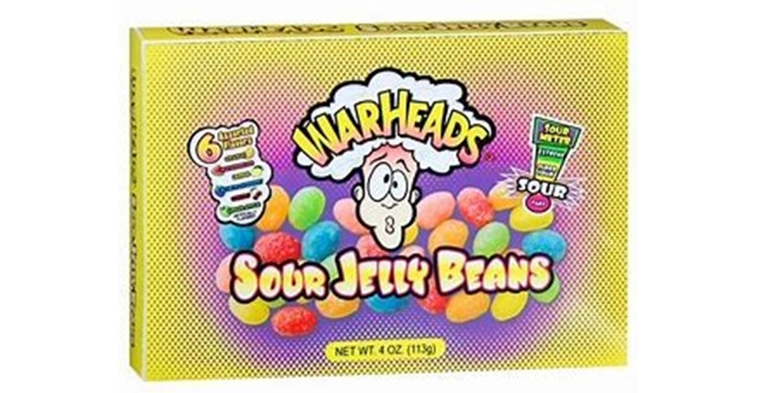 Warheads Jelly Beans Theatre Box 99g