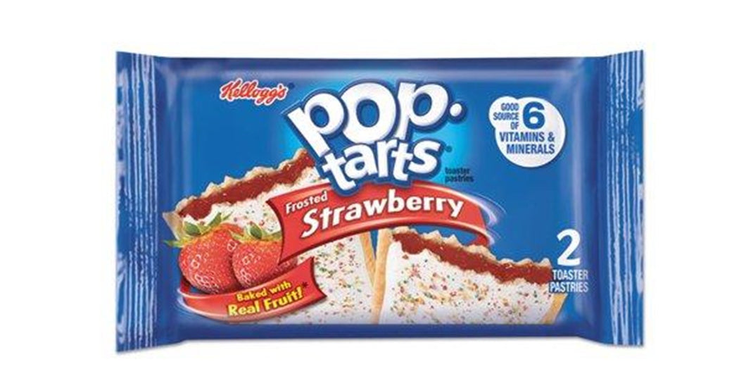 Pop Tarts Frosted Strawberry (2pack)