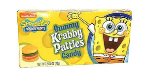 Krabby Patties Gummy Theatre Box
