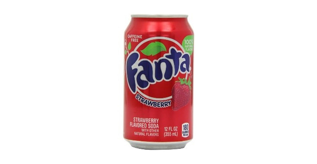 Fanta Strawberry (355ml) Buy 10 Get 2 Free
