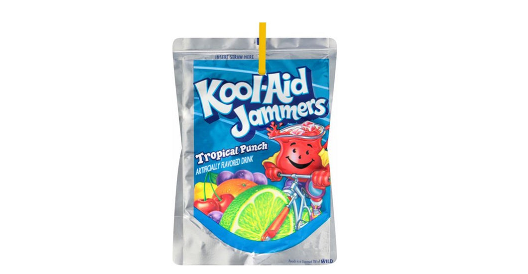 Koolaid Jammers Tropical Punch 170 ml x 10