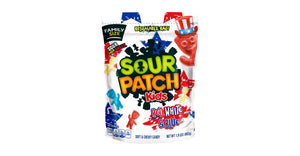 Sour Patch Kids Red White and Blue 1.9lb