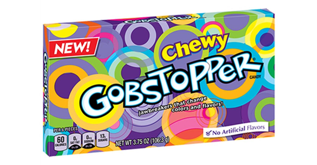 Chewy Gobstopper Box 106g exp June 2020