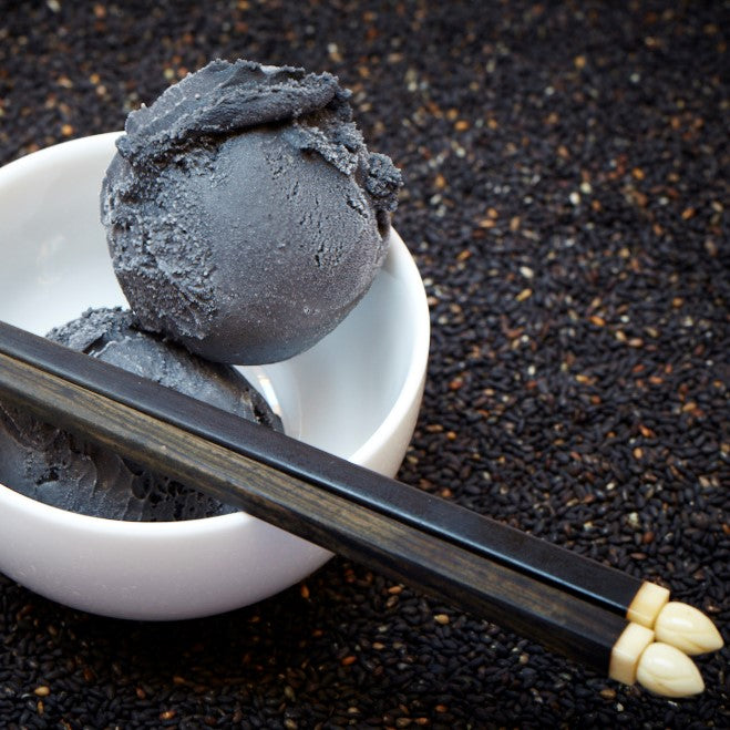 Ice Cream, Black Sesame - 500mL