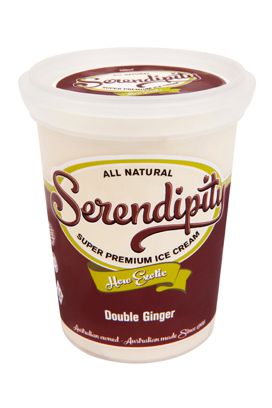 Ice Cream, Double Ginger - 500mL