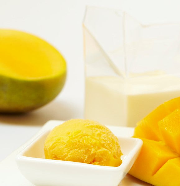 Ice Cream, Mangoes & Cream - 500mL