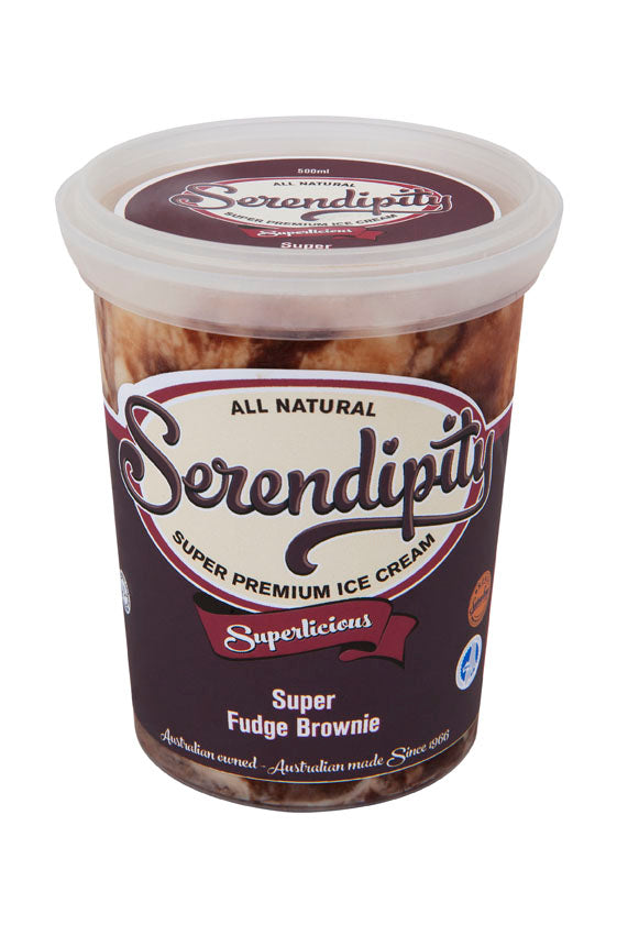 Ice Cream, Super Fudge Brownie - 500ml