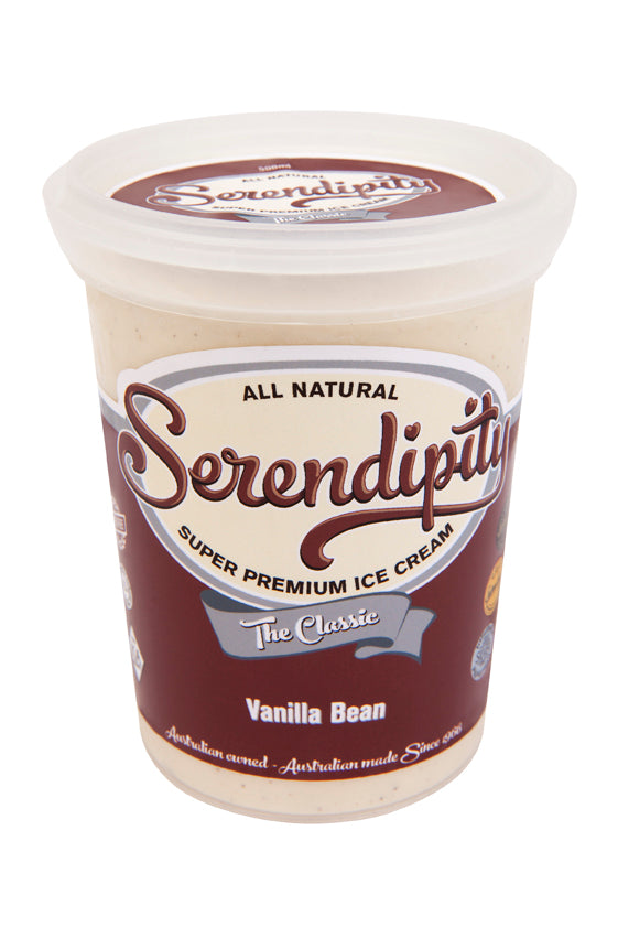 Ice Cream, Vanilla Bean - 500ml
