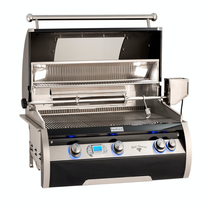 Fire Magic Echelon Black Diamond Edition H79 Built-In Grill (Digital Thermometer) - Babe's BBQ Warehouse