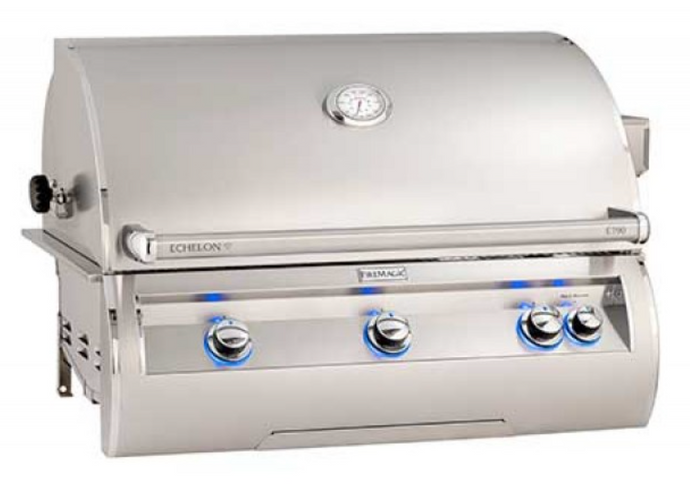Fire Magic Echelon Diamond E79 Built-In Grill (Digital Thermometer) - Babe's BBQ Warehouse