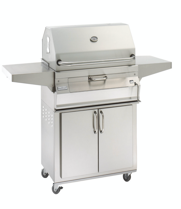 Fire Magic Charcoal Portable Stainless Steel Grill - Babe's BBQ Warehouse