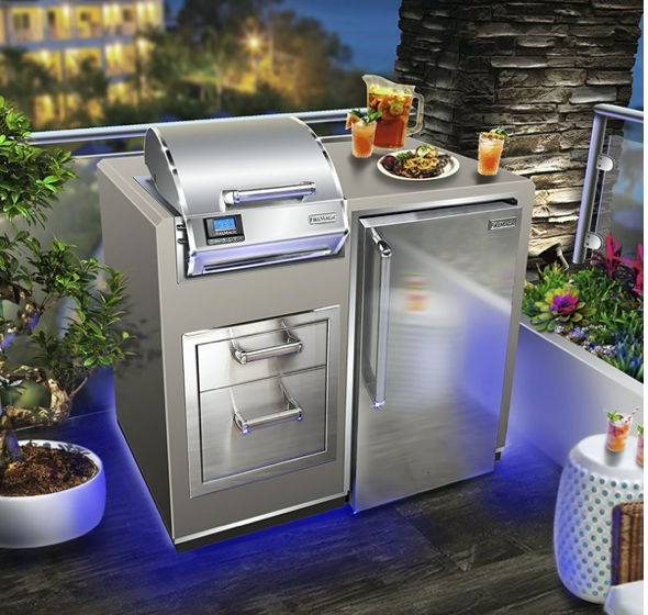 Fire Magic Electric Grill Island Bundle - Babe's BBQ Warehouse