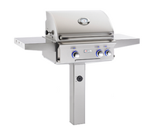 "Load image into Gallery viewer, American Outdoor Grill ""L"" Series In-Ground and Patio Post Mount Grills - Babe's BBQ Warehouse"