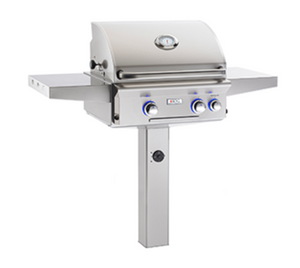 "American Outdoor Grill ""L"" Series In-Ground and Patio Post Mount Grills - Babe's BBQ Warehouse"