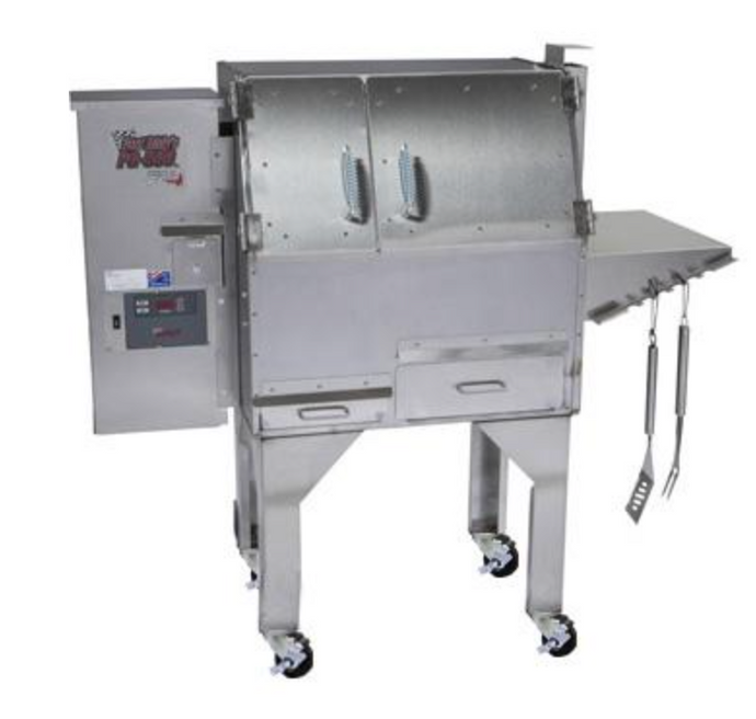 CookShack Fast Eddy's PG500 Wood Pellet Grill - Babe's BBQ Warehouse