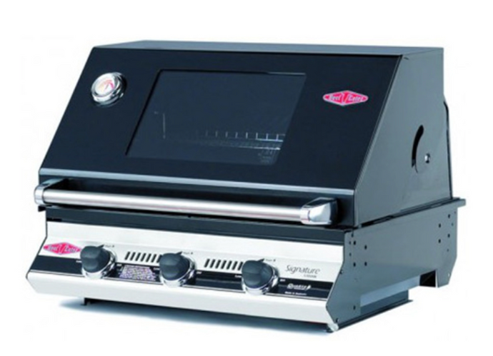 BeefEater Signature Series Black 3000E Grill Head (Built-In) - Babe's BBQ Warehouse