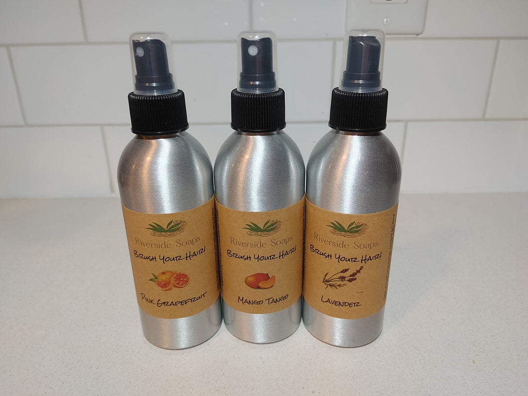 All-Natural, Vegan Brush Your Hair! Detangling Spray