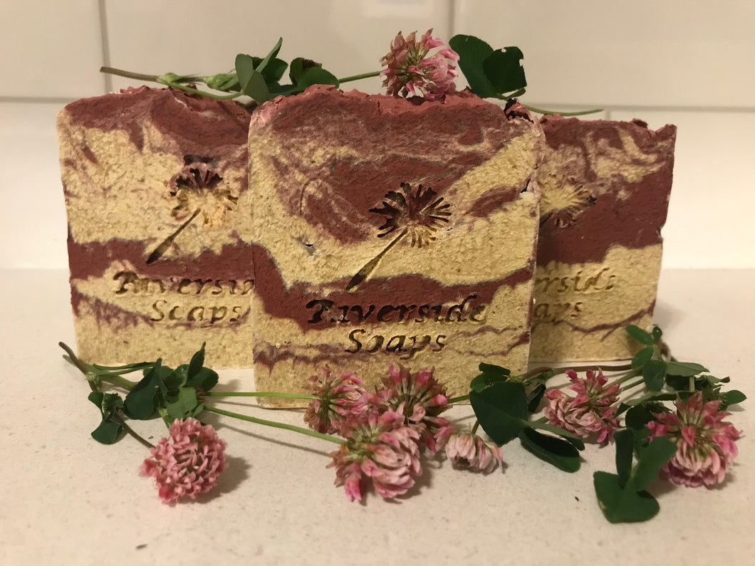 August Soap of the Month - Crimson and Clover