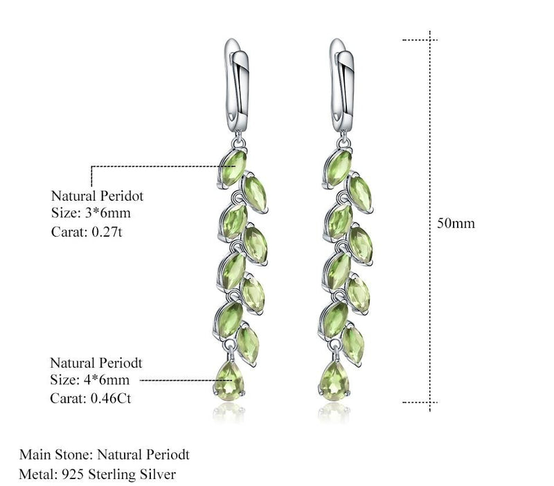 Leaves & Branches shaped Green Peridot Gemstones (5.3Ct )