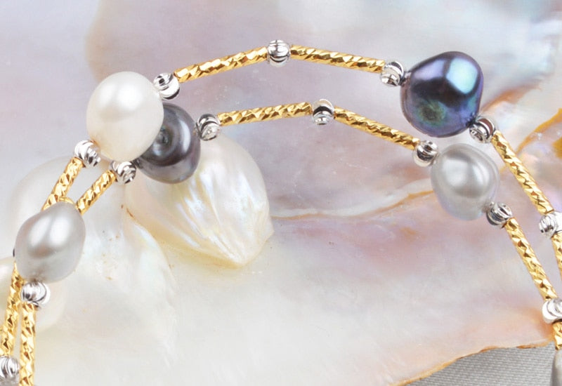 Baroque Pearl Bracelets & Bangle.