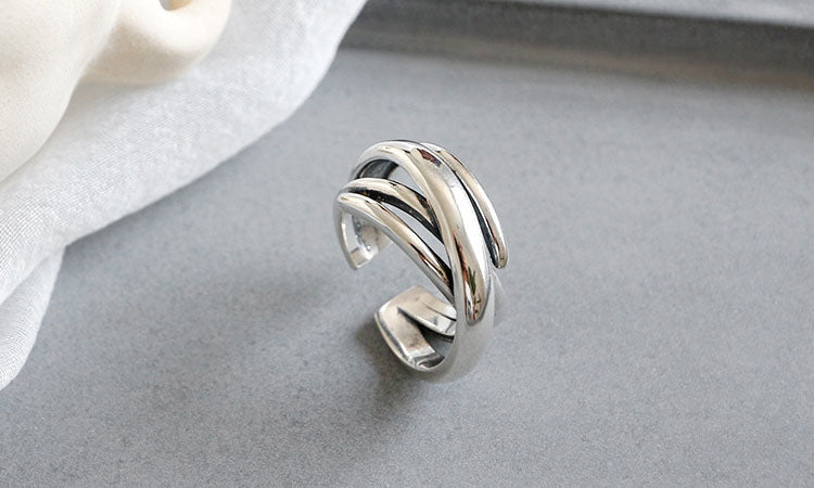 graceful Silver ring