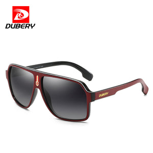 DUBERY Goggle Style Polarized UV400 Sunglasses