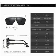 Load image into Gallery viewer, DUBERY Goggle Style Polarized UV400 Sunglasses