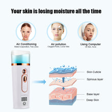 Load image into Gallery viewer, Hailicare  Beauty Salon Style Nano Spray Facial Mist Hydrator & Moisture Analyzer