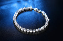 Load image into Gallery viewer, Moissanite Bull Head S925 Sterling Silver Tennis Bracelet for Women