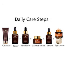 Load image into Gallery viewer, 6pc Skin Care Set with Face Toner, Essence Eye Cream Lotion & Anti-Aging Retinol Serum