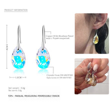 Load image into Gallery viewer, BAFFIN Swarovski Crystal Pear-shaped Drop Earrings for Women