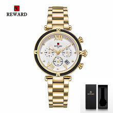 Load image into Gallery viewer, Designer Sports Bracelet Wristwatch with Chronograph for Women