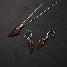 Load image into Gallery viewer, BAFFIN   Swarovski Crystal Spike Pendant Necklace & Earring Set